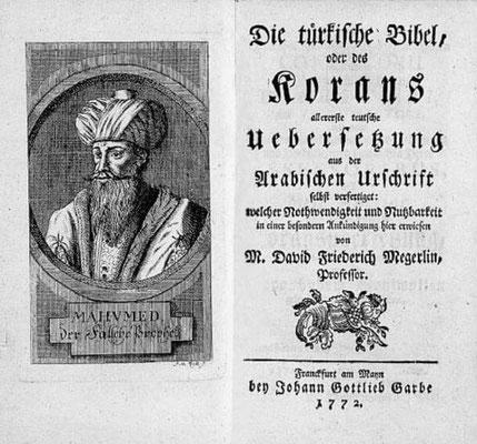 Türkische Bibel von Megerlin