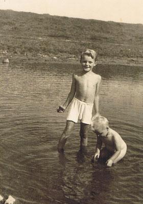 Das waren noch Zeiten, Baden in der Weser 1952