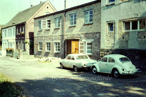 Firma Haupt in der Lönsstrasse / damals Meerweg 1960er Jahre (ehemals Tischlerei Müller)
