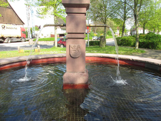 Brunnen / Foto: MZ / 20.04.2014