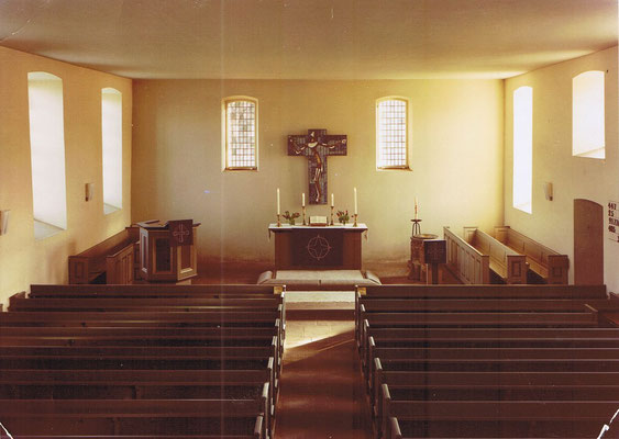 Altarraum ab Anfang der 1960er Jahre