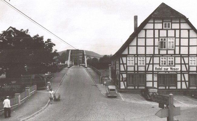Zur Weserbrücke, 50er Jahre