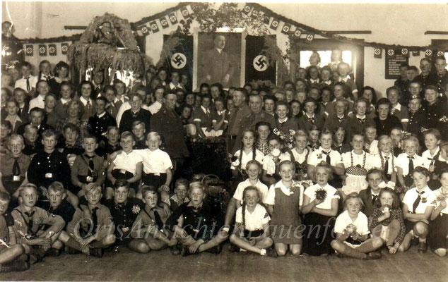 Jugendfeier 1938 im Hotel zur Weser