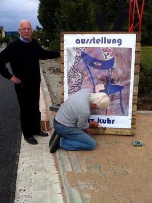 fritz kuhr ausstellung 2011 / Foto LAUENFÖRDE AKTUELL