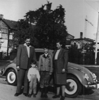 Familienausflug 1952