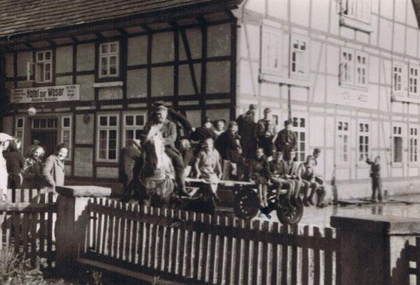 Hotel zur Weser 30er Jahre