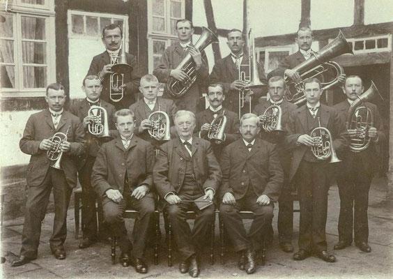 Posaunenchor um 1900