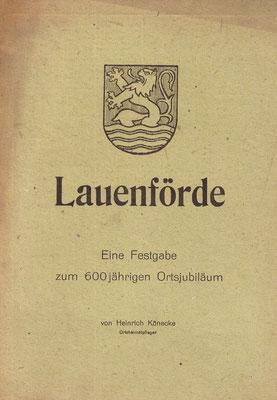 Festgabe von Heinrich Könecke