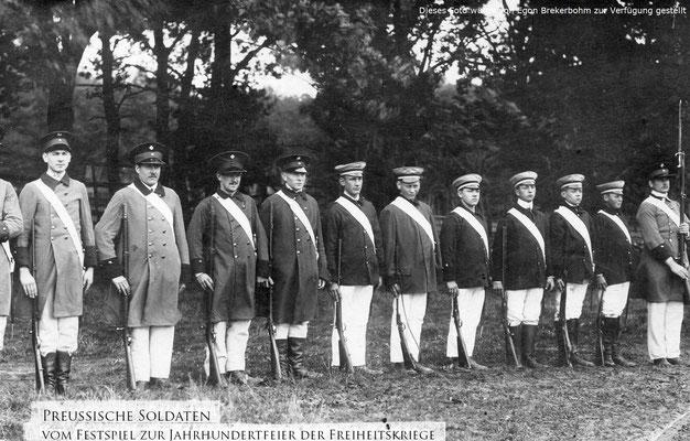 1913 Jahrhundertfeier der Freiheitskriege zur 100jährigen Wiederkehr der Völkerschlacht bei Leipzig.