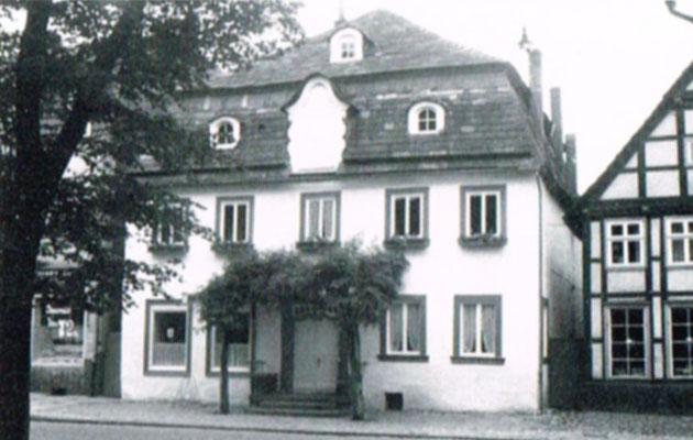 Die alte Apotheke in der Weserstrasse