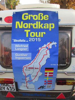 Deutz Willi startet zum Nordkap