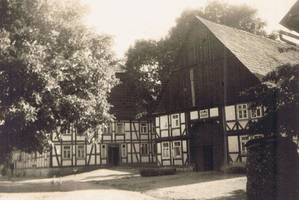 Blick auf Hof Wielert
