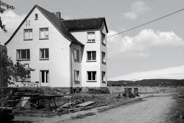 Neuaufbau des Wohnhauses (Sohnreystraße 5)