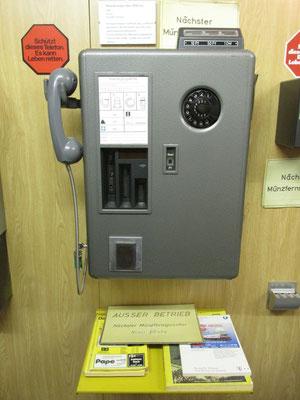 Telefonzelleneinrichtung / Foto: M. Zühlsdorf