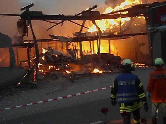 Feuer in Meinbrexen im September 2011