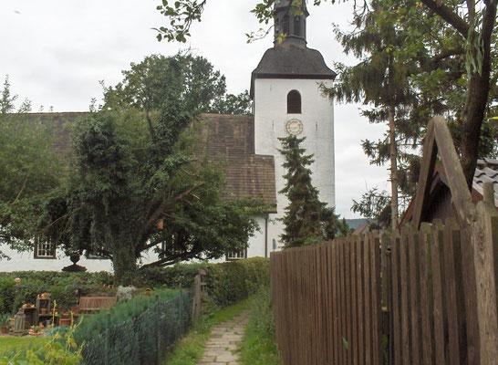 Sicht vom Kirchfeld aus 2011