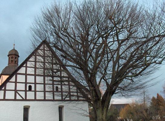 Kirche, Ostseite