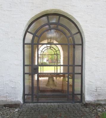 Eingang zum Kirchturm / Foto: MZ / 20.04.2014