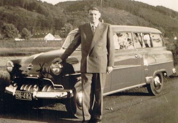 Typ: Opel Olympia Rekord  Eigentümer: Karl Gauding