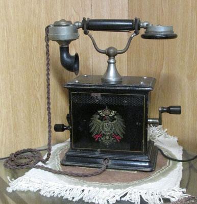 Mit einem solchen Gerät hat schon Kaiser Wilhelm telefoniert / Foto: M. Zühlsdorf