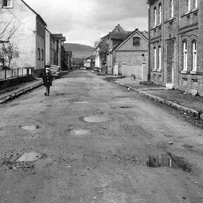 Blick in die Jacobstrasse um 1955