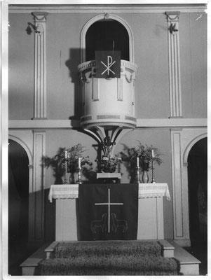 Altarraum bis Anfang der 1960er Jahre