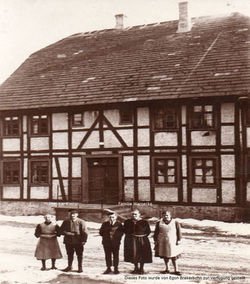 Das ehemalige Försterhaus