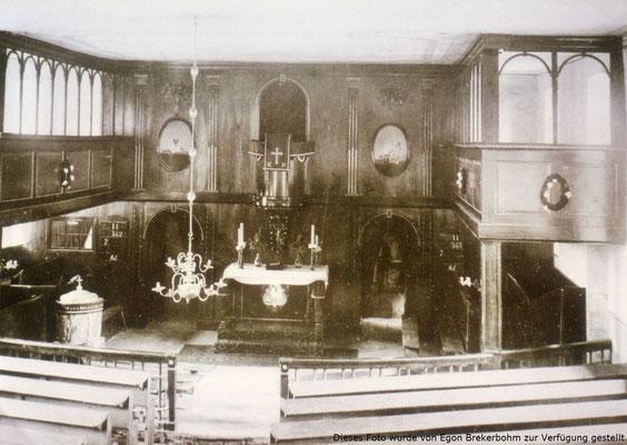 Altarraum bis Anfang 1900