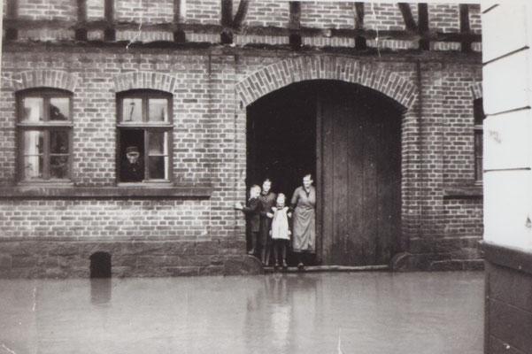Hochwasser 1939 / Haus Thies