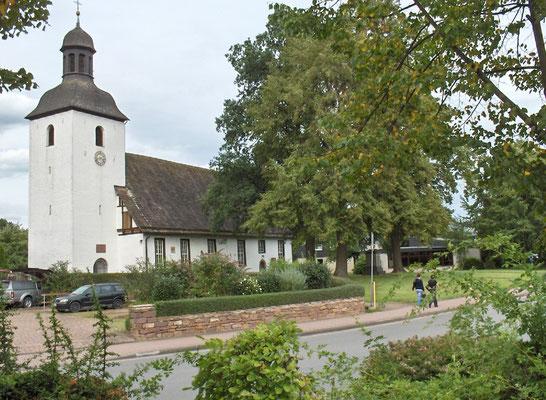 Ansicht vom Dorfplatz aus