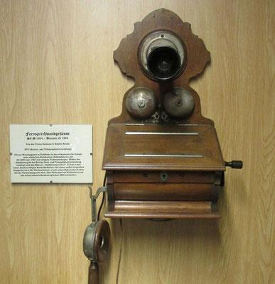 Wandtelefon aus dem Jahr 1904 / Foto: M. Zühlsdorf
