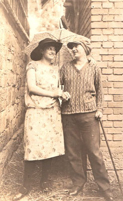 Lauenförder Mode um 1900