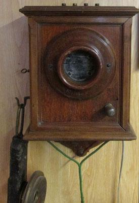 Wandtelefon aus dem Jahr 1889 / Foto: M. Zühlsdorf