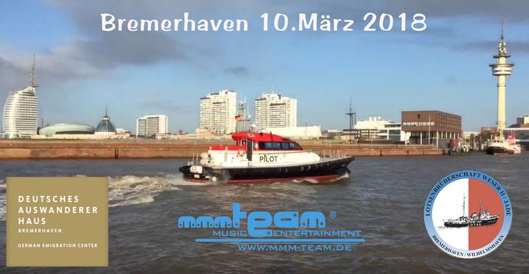 Ball der Seelotsen Bremerhaven im Deutschen Auswandererhaus
