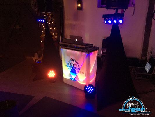 mmm-team DJ Arbeitsplatzvariante bei Op De Deel in Lüdingworth