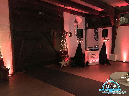 Weihnachtsfeier bei Op De Deel in Lüdingworth