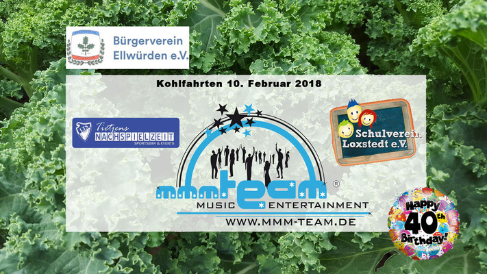 Kohltouren u.a. Events 2018
