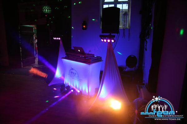 Hochzeit bei Op De Deel in Cuxhaven-Lüdingworth - DJ Arbeitsplatz