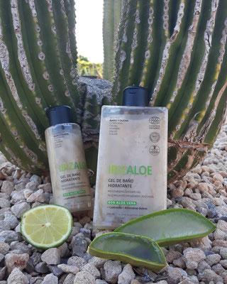 Duschgele für sensible, trockene Haut, ökologisch abbaubar (250ml + 100ml)