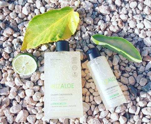 Shampoo für sensible, trockene Kopfhaut, biologisch abbaubar (250ml + 100ml)