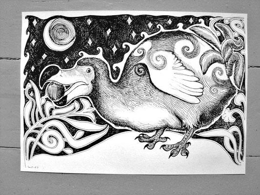 Verkauft: Dodo mit Kokosnuss