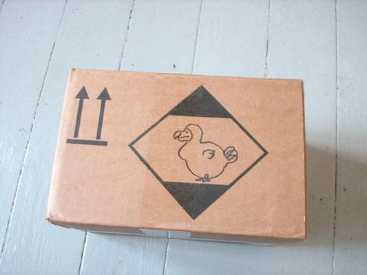 Verpackung für 3 Plüschdodos