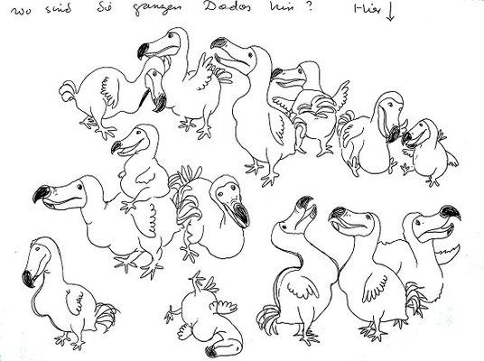 Wo sind all die Dodos hin? Hier!