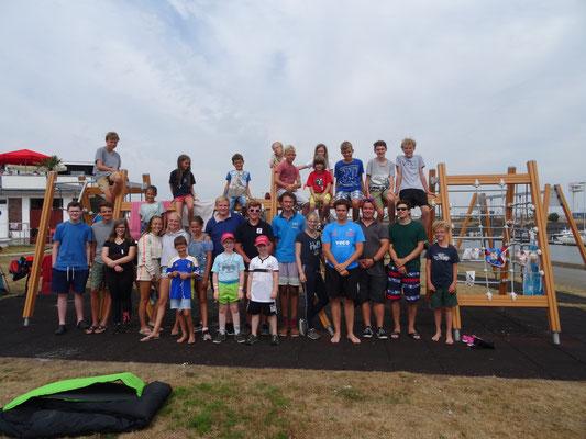Die Teilnehmer des Opti-Camps 2018, Foto: Margrit Erkner