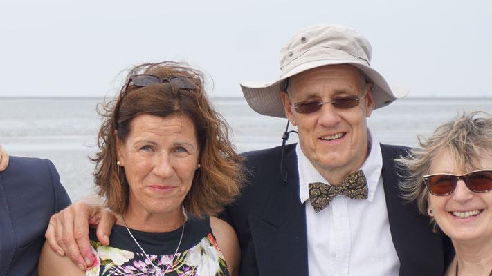 Britta, Jens K. und Marie