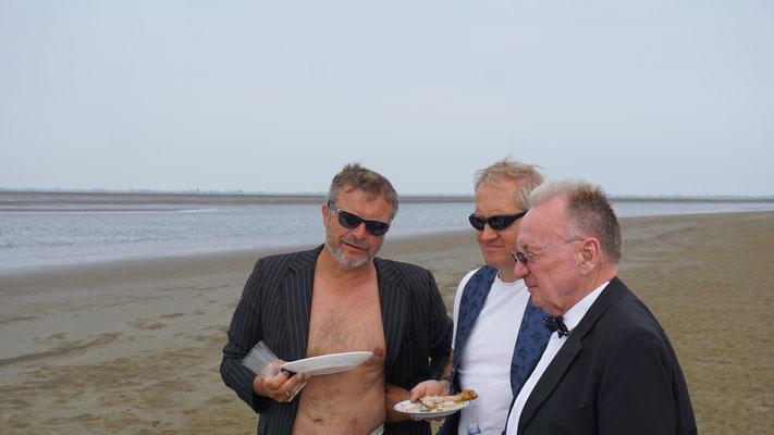 Jörn, Malte und Michael