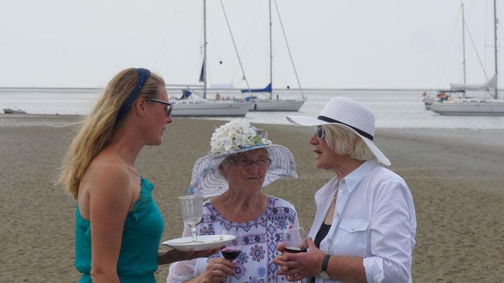 Sandra, Bärbel und Irmgard