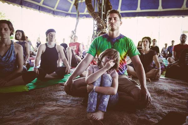 Méditation avec les enfants - Festival D.T #1