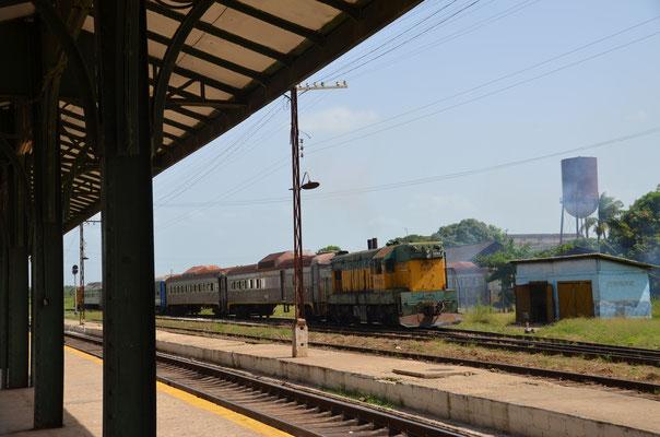 Die alten Züge.