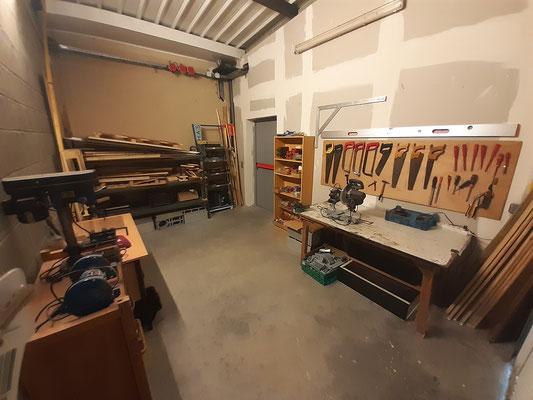 L'atelier de construction de décors